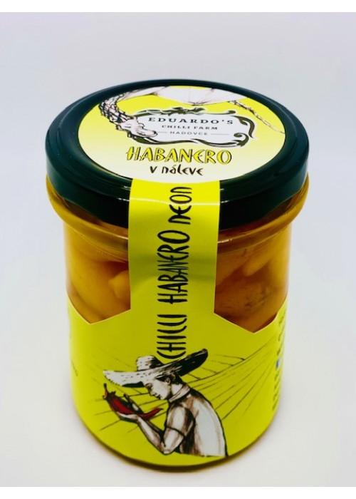 Habanero neon pickles