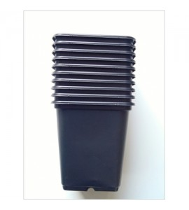 sadbovač - kvetináč pvc 6,5x6,5x6,5 cm